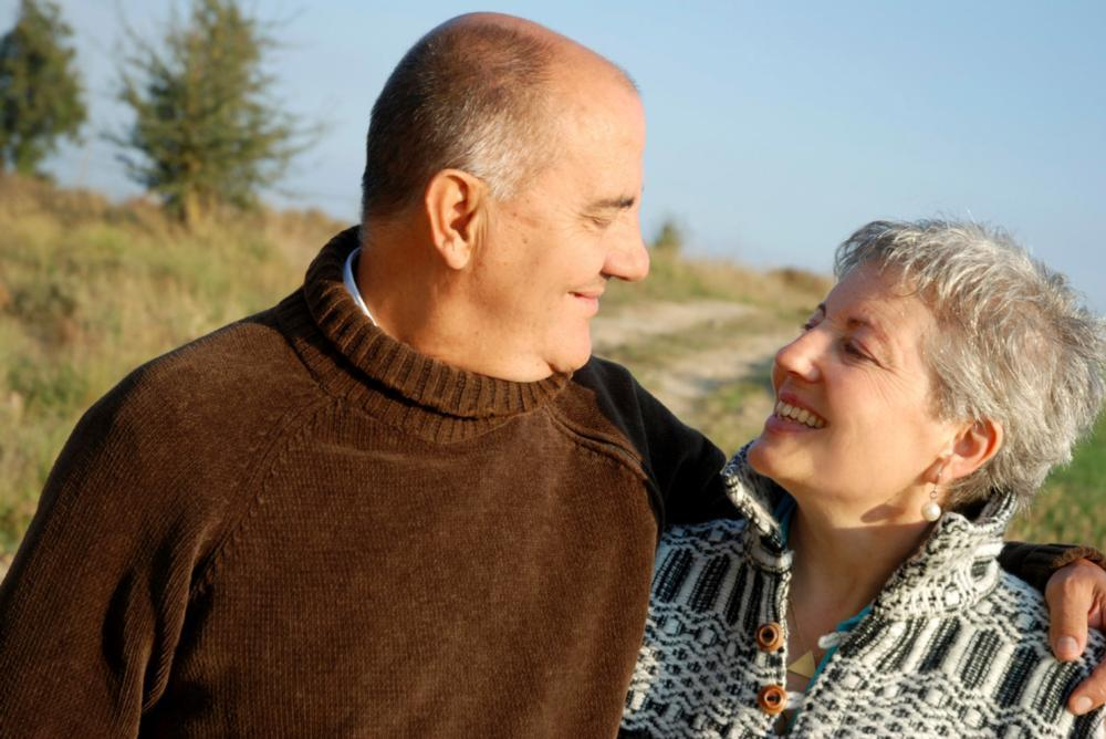 Older Couple Dental Patients | Workman Family Dental 62263