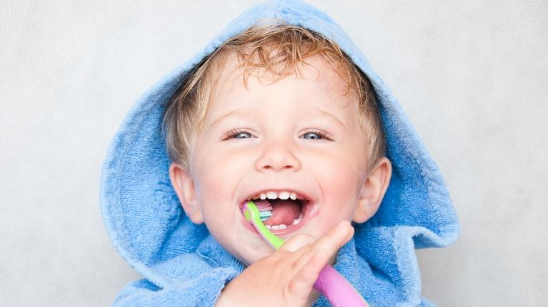 Child Brushing Teeth | Workman Family Dental