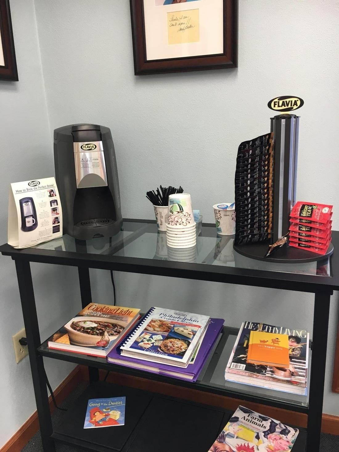 Coffee Bar | Workman Family Dental
