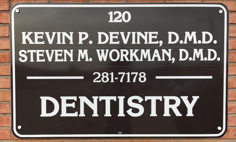 Office Plaque | Workman Family Dental